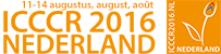 ICCCR2016 | 11-14 august, The Netherlands