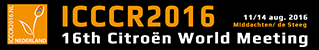 ICCCR2016   11-14 august, The Netherlands